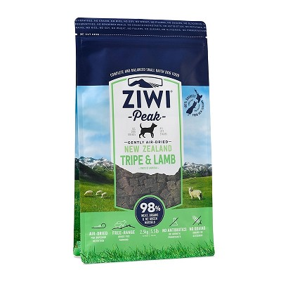 Ziwi Air-Dried Tripe & Lamb Recipe Food For Dogs, 5.5-lb Bag