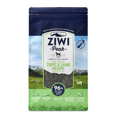 Ziwi Air-Dried Tripe & Lamb Recipe Food For Dogs, 16-oz Bag