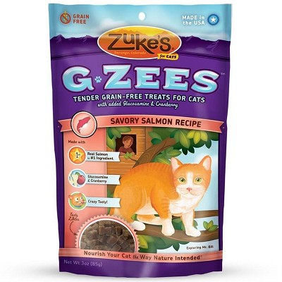 Zuke's G-Zees Savory Salmon Recipe Cat Treats