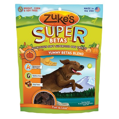 Zuke's Super Yummy Beta Blend Dog Treats, 6-oz bag